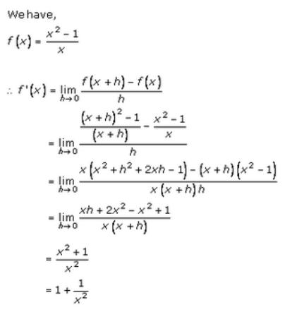 Derivatives – Exercise – 30.2 – Q.1(v)