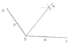 An angle of measure 108°