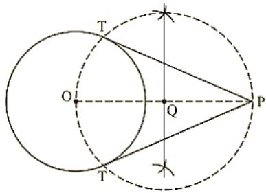 Circle of radius 6 cm