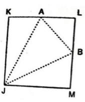 JKLM is a square