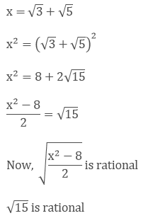 R D Sharma Solutions Class 9 Math Chapter 1 Number System Exercise 1 4 So, an irrational number is one in which m=q/p does not exist. math chapter 1 number system exercise 1 4
