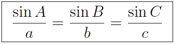 Two sides and a non-included angle (SSA)