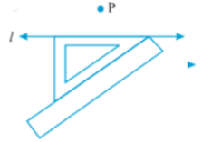 Hypotenuse of set square