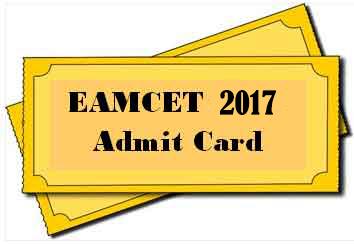 eamcetadmit card