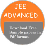 JEE Advanced 2019 Sample Papers
