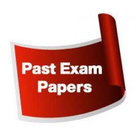 Past Exam Papers