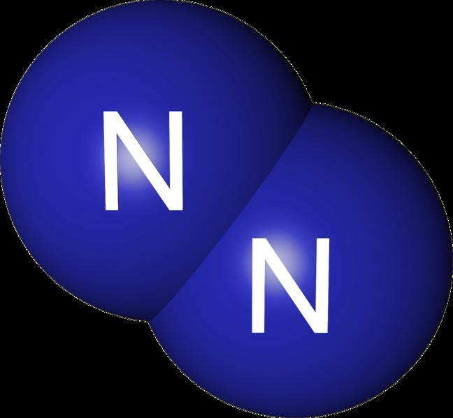 Elemental Nitrogen Molecule