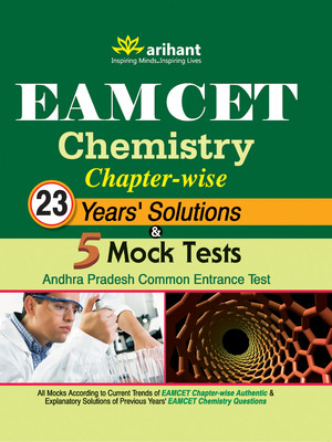 EAMCET Chemistry Chapterwise 23 Years Solutions & 5 Mock Tests