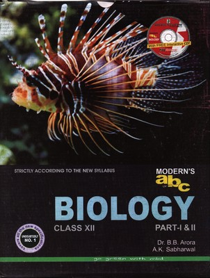 Modern Abc Of Biology Class-XII (Set Of 2 Parts)
