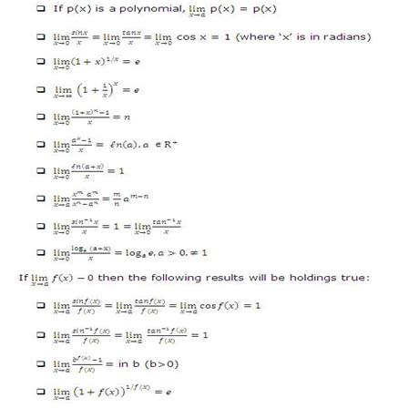 Revision Notes on Limits, Continuity & Differentiability for