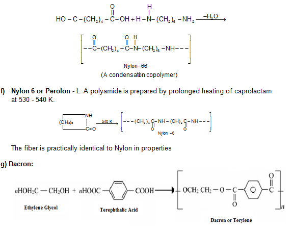 Revision Notes on polymers | askIITians
