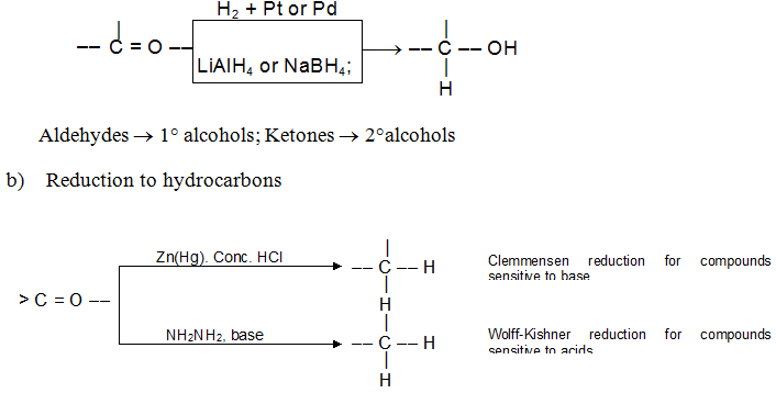 test for alcohols aldehydes and ketones Qualitative analysis ii notes and secondary alcohols and aldehydes this test distinguishes between methyl ketones and other ketones.
