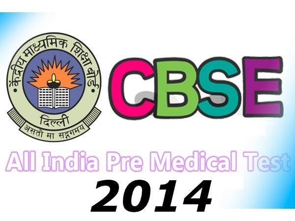 CBSE NEET (AIPMT) Examination 2014