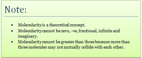 Molecularity of Reaction