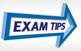 Examination Day Tips