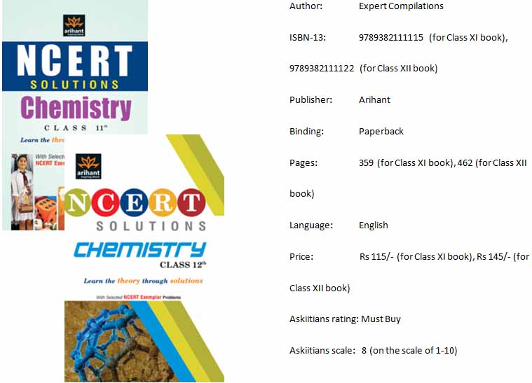Chemistry XI, XII by NCERT