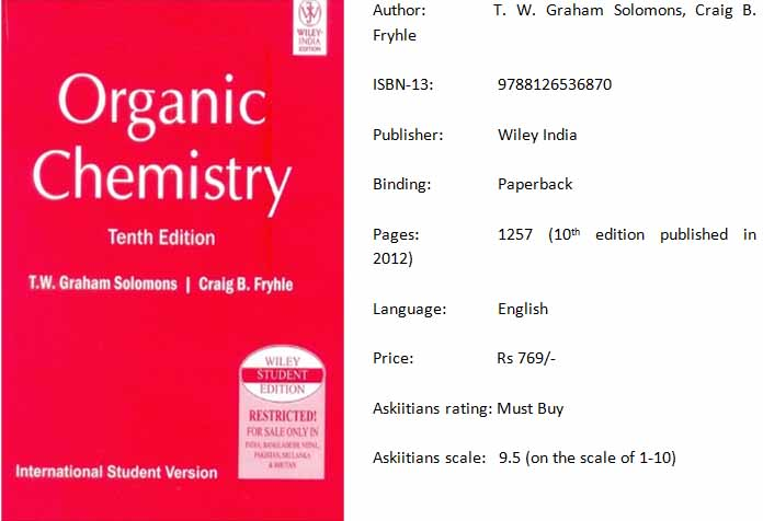 Solomons chemistry book solomons organic chemistry iit jee organic chemistry by solomons fandeluxe Choice Image