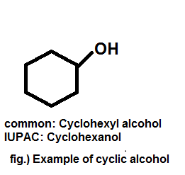 Example of cyclic alcohol