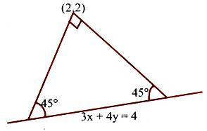 Isosceles right-angled triangle