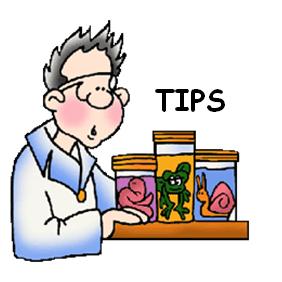 Tips for Biology