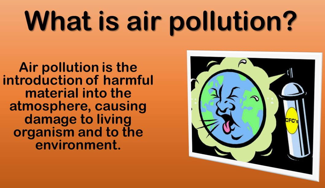 Definition of Air Pollution