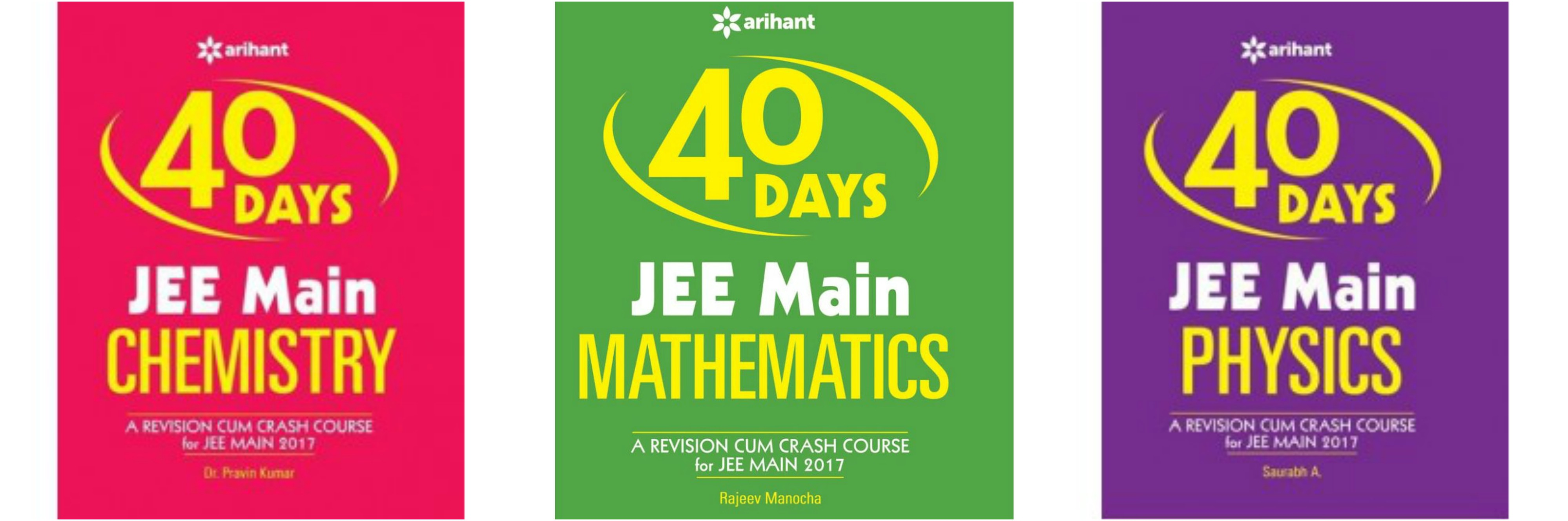 Image result for arihant jee mains 40 days